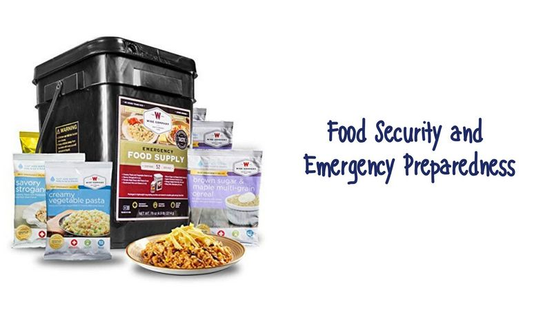 Food Security and Emergency Preparedness